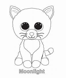 beanie boo coloring pages cat coloring page beanie boo