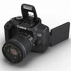 canon eos 750 d 3d canon eos 750d model
