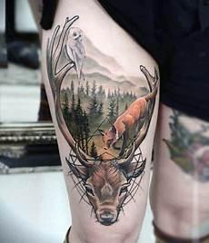 top 87 deer tattoo ideas 2020 inspiration guide
