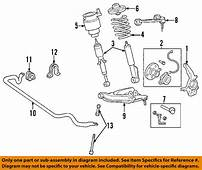 FORD OEM 03 04 Expedition Front Suspension Shock Mount