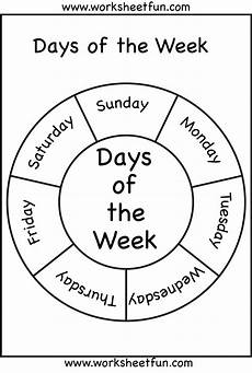 free worksheets days of the week 18835 days of the week free printable worksheets worksheetfun