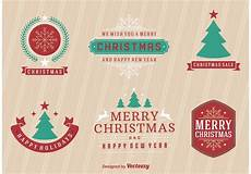 merry christmas retro labels download free vectors clipart graphics vector art