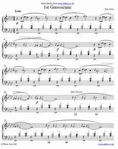erik satie gymnopedie no 1 sheet music pdf epic sheet music