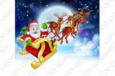 weihnachten cartoon film santa reindeer sleigh graphic