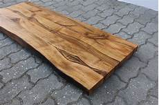 holzplatte massiv kaufen waschtisch tischplatte platte nussbaum massiv holz mit