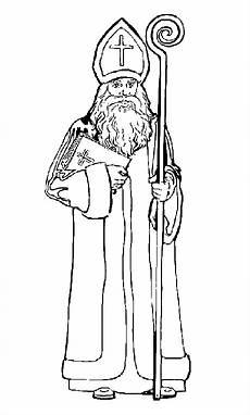 Ausmalbild Bischof Nikolaus Animaatjes De Gifs Bilder Animierte Animationen