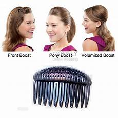 how to use bump it hair accessory bump it up inserts hair styling comb front back top hair