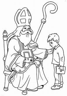 Kostenlose Malvorlagen Nikolaus Ausmalbilder Nikolaus Kostenlos Malvorlagen Zum