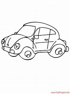 beetle car coloring page for free