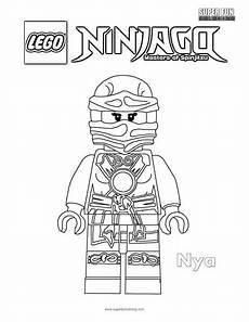 nya lego ninjago coloring page coloring