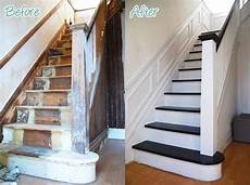 comment peindre un escalier en bois relooker meubles