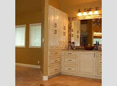 Sherwin Williams SW 6126 Navajo White cabinets   Navajo