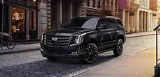 2019 cadillac escalade sport edition goes for the black