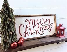 merry christmas sign rustic christmas sign merry christmas
