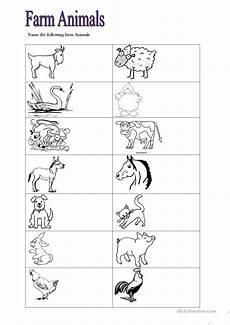farm animals worksheets esl 13859 81 free esl farm animals worksheets