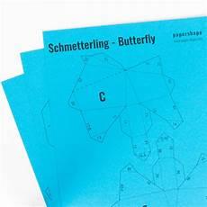 3d Schmetterling Basteln Als Wanddeko Mit Kostenloser