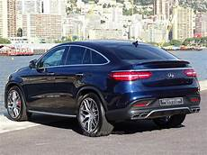 gle coupe occasion mercedes gle coup 233 63 amg s 4 matic 585 cv bleu m 233 tal