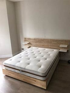 ikea mandal king size bed and headboard in finsbury park