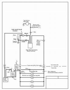 electric brake wiring diagram electric brake control wiring