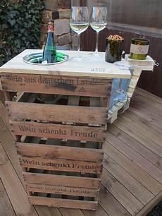 Ideen Aus Weinkisten - weinkisten palettenhack wohn wine barrel