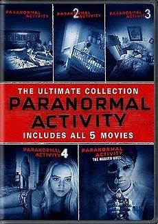 paranormal activity complete 1 2 3 4 5 horror