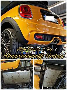 Mini Cooper S F56 Klappenauspuff Umbau Mit Fernbedinung