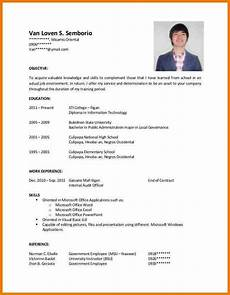application letter for ojt mple resume sle accounting students cover job resume exles