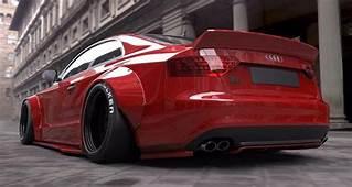 Audi S5 Ernstig Toegetakeld Door Liberty Walk  Autoblognl