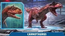 Malvorlagen Jurassic World Alive Carnotaurus Day Jurassic World Alive