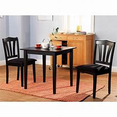 3 Dining Set Table 2 Chairs Kitchen Room Wood