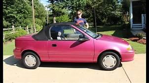 1993 GEO METRO Convertible Car Review  Used Cars MYSTIC