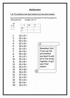multiplication worksheets ks2 year 4 4463 multiplication worksheets by rebs89 teaching resources tes
