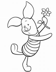 piglet pig coloring pages to print winnie the
