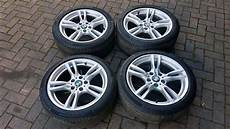 genuine bmw 18 inch new style 400m staggered alloy wheels