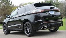The Rear End Of The 2015 Ford Edge Sport Awd Torque News