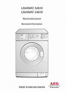 aeg lavamat resetten aeg electrolux l52610 washing machine manual for