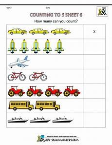 counting numbers worksheets for preschool 7985 preschool counting worksheets counting to 5