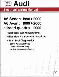 chilton car manuals free download 1998 audi a6 instrument cluster audi electrical wiring manual a6 avant allroad quattro 1998 2000