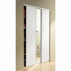 porte de placard standard 81595 porte de placard coulissante effet fr 234 ne blanc spaceo l 67 x h 250 cm leroy merlin
