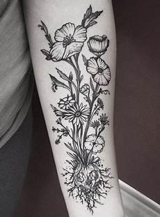 51 Sch 246 Nsten Kleine Blumen Tattoos Ideen 2017