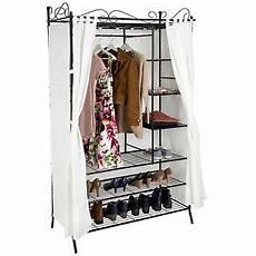 Metall Garderobenschrank Mit Vorhang Kleiderschrank