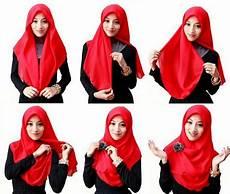 Kreasi Jilbab Modern Segi Empat Gaya Terbaru 2016