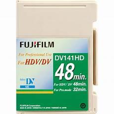 hdv cassette fujifilm dv141hd48s hdv 15760344 b h photo