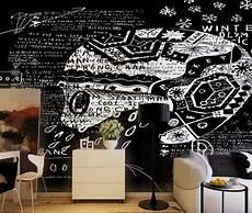 11 Lukisan Dinding Abstrak Hitam Putih Arti Gambar