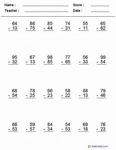 addition and subtraction worksheets vertical 9104 excellent worksheets place value using base ten blocks and many more multiplication