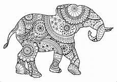 Ausmalbilder Erwachsene Elefant Elefanten 65962 Elefanten Malbuch Fur Erwachsene