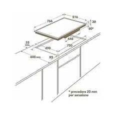 piano cottura misure hk 874406xb aeg piano cottura a induzione 80 cm 4 zone