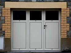 Porte De Garage Battante En Aluminium 3 Vantaux Ou 4
