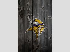 Minnesota Vikings Wood iPhone 4 Background by