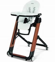 peg perego siesta wood high chair bianco